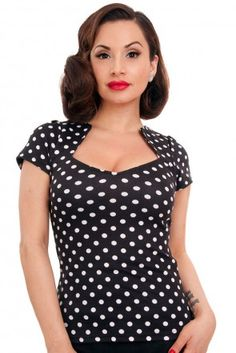 Steady Clothing Polka Dot Sophia Top Cookies & Cream