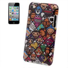 iPod Touch case / hoesje, cartoon style.