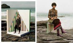 Missoni advertising FW 2013 starring Stella Tennant on Moda.guidone.it
