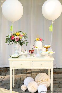 #BabyShower #DIY Dessert Table