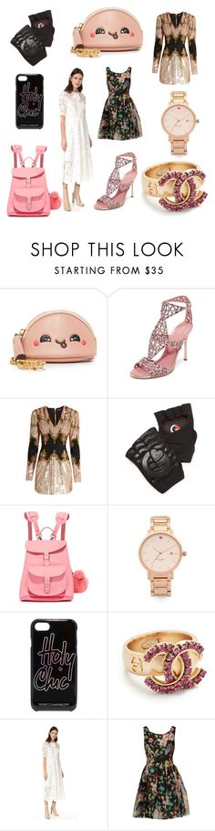 """EMPOWER WOMEN"" by cate-jennifer ❤ liked on Polyvore featuring Anya Hindmarch, Sergio Rossi, Balmain, G-Loves, Grafea, Kate Spade, Rebecca Minkoff, Temperley London and Dolce&Gabbana"