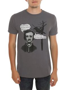 Just A Poe Boy T-Shirt Ha!  Great Queen joke for English literature nerds