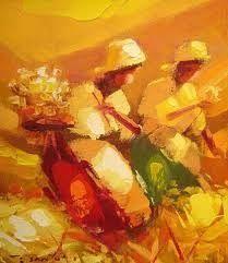 Resultado de imagen de pinturas de colheita de flores