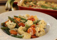 Tortellini Casserole -I would add chicken
