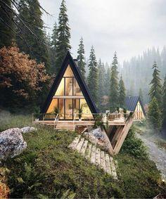 ¿Una casa así?🏡😍🖤