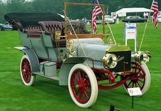 1906 Winton touring - George Funk had a 1906 Winton. What a cool car it was!
