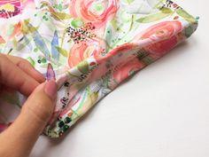 Návod jak ušít dámskou tuniku + střih ve velikostech 32 - 62 Floral Tie, Alexander Mcqueen Scarf, Fashion, Tunic, Moda, Fashion Styles, Fashion Illustrations