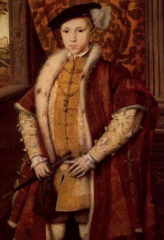 King Edward VI, son of Jane Seymour & Henry VIII