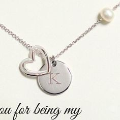 Personalized Open Heart Medallion Necklace - Bridesmaids Gifts - Novelty Wedding Gifts - Wedding Favors & Party Supplies - Favors and Flowers Bridesmaid Jewelry, Bridesmaid Gifts, Bridesmaids, Bridesmaid Dresses, Wedding Dresses, Wedding Cards Keepsake, Wedding Gifts, Wedding Ideas, Wedding Things