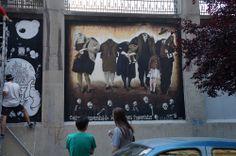 """El Muro de Alto en el Proyecto """"Muros"""".#ArteTabacalera Promoción del Arte #ArteUrbano #StreetArt Madrid Día 6 #Arterecord 2014"""