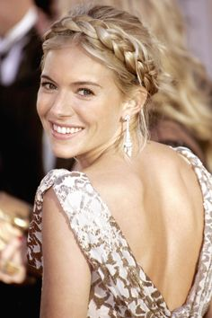 Sienna Miller's Braided 'do.