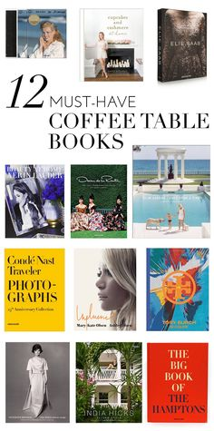 12 must-have coffee table books | glitterguide.com