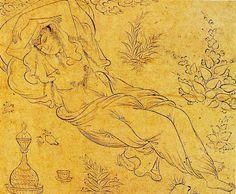 Reclining Woman (1595).