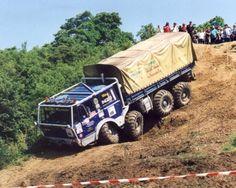 Tatra 6x6 off road race trucks