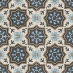 Moroccan Encaustic Cement Pattern Tiles 11a