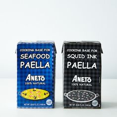 ANETO Seafood & Squid Ink Paella Base Duo on Provisions by Food52
