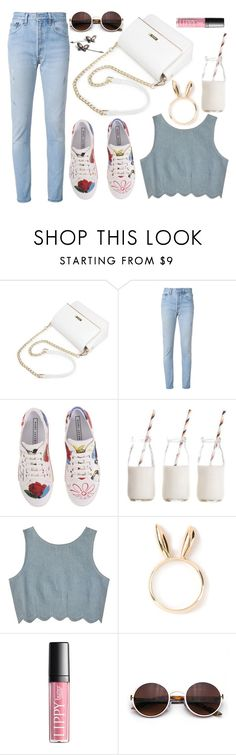 """""""Right there in the mirror"""" by karllydolly ❤ liked on Polyvore featuring RE/DONE, Marc Jacobs, Dress My Cupcake, Samantha Pleet and Natasha Zinko"""