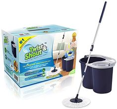 Twist And Shout Mop - Original Hand Push Spin Mop With 2016 Improvements, 2015 Amazon Top Rated Cleaning Tools #Home