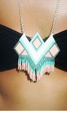 Tassel Necklace, Arrow Necklace, Tassels, Diy, Inspiration, Jewelry, Fashion, Bead, Biblical Inspiration