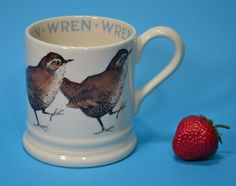Emma Bridgewater British Birds Series COFFEE MUG - WREN First Quality #Mugs