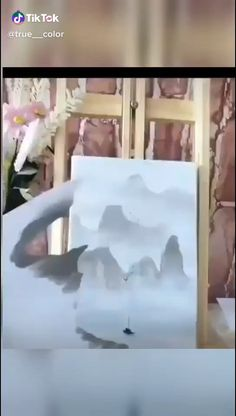 Canvas Painting Tutorials, Watercolor Painting Techniques, Diy Canvas Art, Watercolor Paintings, Art Drawings Sketches Simple, Art Tutorials, Art Projects, Twitter Quotes, Crafts
