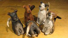 hondenbeeldjes uit Finland