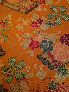 From my collection of chirimen fabric......v