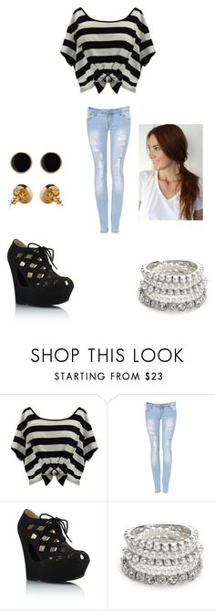 """Eleanor 02"" by justine-palle ❤ liked on Polyvore featuring Piper Lane, Parisian and American Apparel"
