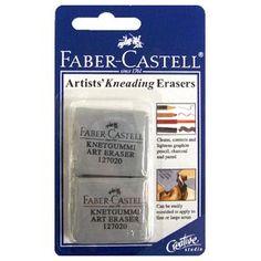 Faber Castel Kneading Erasers Pk2