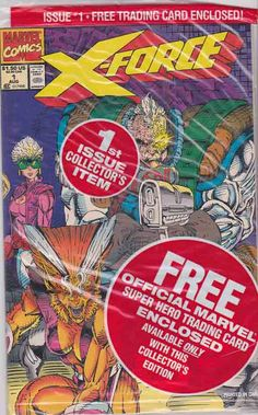 X-Force #1 Polybagged with Cable Card Aug '91 X-Force arrives at a Mutant Liberation Front base in Antarctica. They enter the base and go looking to find Stryfe and bring him down. MLF members appear and start attacking. Shatterstar attacks Reaper and cuts off his left hand, showing they mean business. Forearm grabs Cable and Warpath comes to his aid.