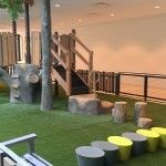Indoor (and small outdoor!) play area at the Worthington Mall