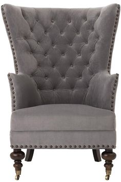Remmy Club Chair - Armchairs - Accent Chairs - Upholstered Chairs - Tufted Chairs | HomeDecorators.com