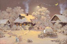 Obrazy w ramkach zatrzymane: Zimowe pozdrowienia.