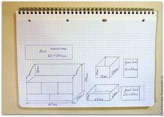 Делаем из картона вместительный комод с выдвижными ящичками для рукоделия - Ярмарка Мастеров - ручная работа, handmade