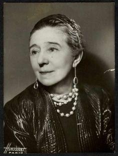 Portrait de Jeanne Lanvin vers 1934