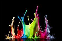 cool paint splash