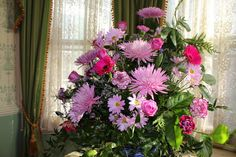 Flower Arranging: July Blooms for a Cold January