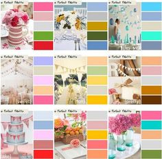 Love color? ''Like'' us! We're dishing up daily color inspiration! http://www.facebook.com/theperfectpalette