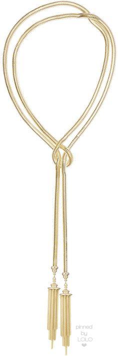 "Kendra Scott McKayla Snake-Chain Lariat Necklace, 60""L Gold | LOLO❤︎"