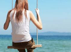 woman on swing - Mentoring Moments