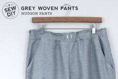 DIY Casual Summer Pants — Sew DIY Diy Clothes Jeans, Diy Clothes Hangers, Diy Summer Clothes, Diy Clothes Refashion, Diy Clothes Videos, Sewing Clothes, Diy Clothing, Diy Clothes Vintage, Diy Clothes Organiser