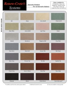 7 Best Integral Color Color Charts Images In 2012