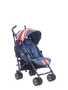 Easywalker Mini Buggy and Mosquito Net - Union Jack Vintage