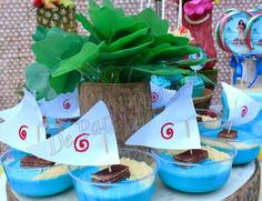 Moana Birthday Party Ideas | Photo 2 of 10