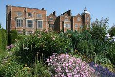 Hatfield House from the West Parterre Garden