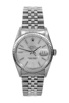 ef346b44dbd Rolex Men s stainless steel datejust with white gold bezel.... my college  graduation
