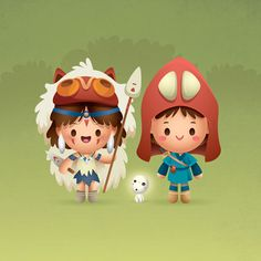 "https://flic.kr/p/eiQhcH | The Princess and The Warrior | My tribute to Princess Mononoke for the Supah Mash-Up Art Party. <a href=""http://supahcute.com/2013/05/12/supah-mashup-art-party-online-gallery/"" rel=""nofollow"">supahcute.com/2013/05/12/supah-mashup-art-party-online-ga...</a>  Update: SOLD! Check out my collaboration with Jared Andrew Schorr on exclusive tributes to PONYO and MY NEIGHBOR TOTORO. These one of a kind pieces are now available at the gallery."