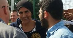 Bollywood star Akshay Kumar has been visiting Leicester - Leicester Mercury #FansnStars