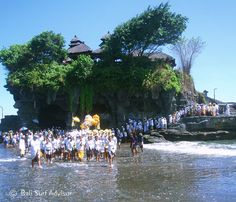 Tanah Lot Temple Ceremony   Bali Places of Interest