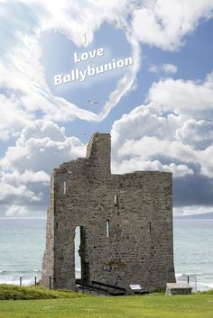 love heart shaped cloud above ballybunion castle in county kerry ireland Inch Beach, West Coast Of Ireland, Wild Atlantic Way, More Images, Love Heart, Touring, Heart Shapes, Monument Valley, Mount Rushmore